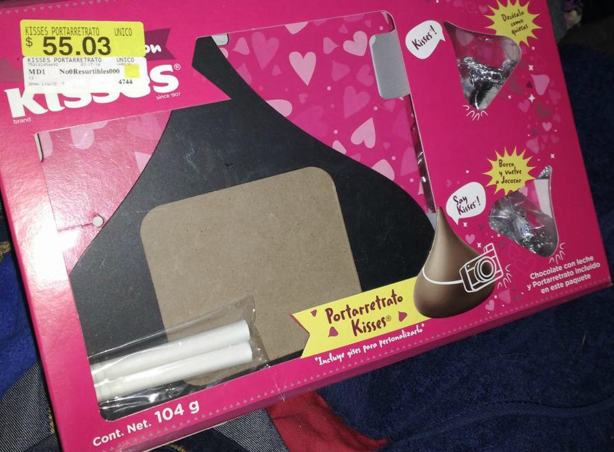Walmart: Kisses de Hershey's con portaretrato a $20