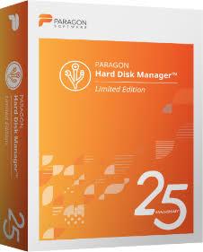 Paragon Hard Disk Manager™ 25 Anniversary PC Gratis
