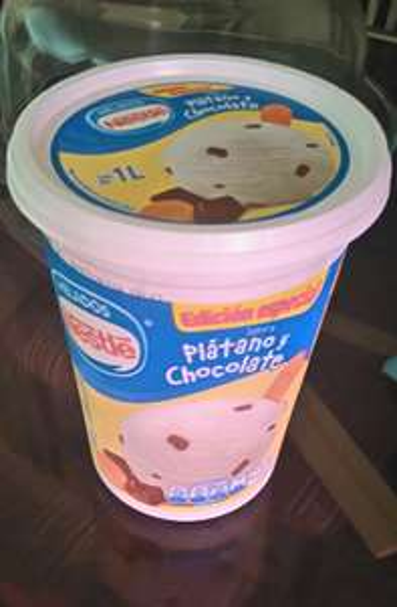 Walmart Bosques de Rentería: helado Nestlé sabor plátano a $24.99