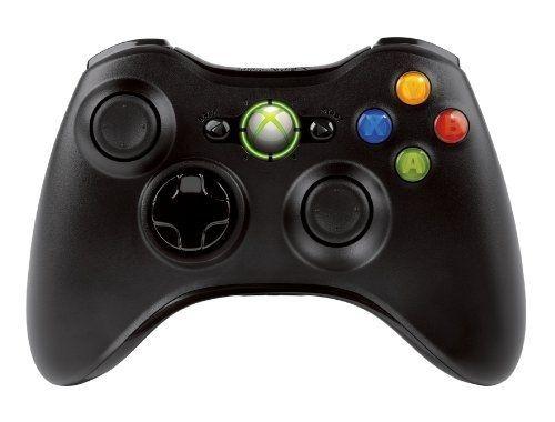 Amazon: Control inalámbrico negro Xbox 360 a $446.86