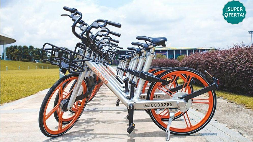 Peixe / Groupon: Plan Mobike de 5 días ilimitado por $9 pesos. Válido hasta el 2 de Julio 2020