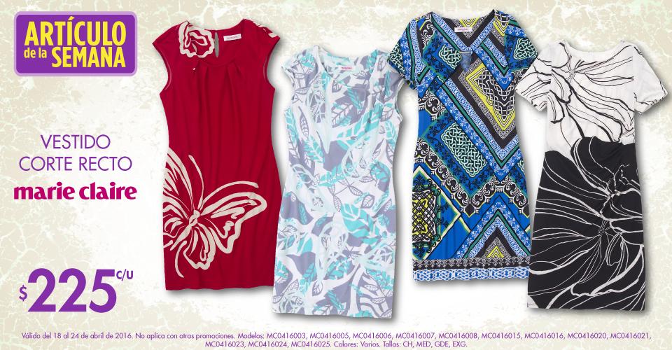 Suburbia: artículo de la semana vestido recto Marie Claire a $225