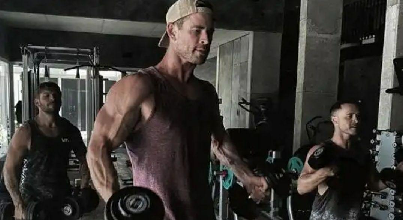 Chris Hemsworth te entrena gratis durante la cuarentena por el coronavirus.