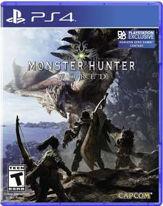 Monster Hunter: World Juega Gratis del 25-30 Marzo PS4