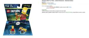 Amazon: Lego Dimensions 60% de Descuento en Simpsons Krusty y Simpsons Bart Fun Pack
