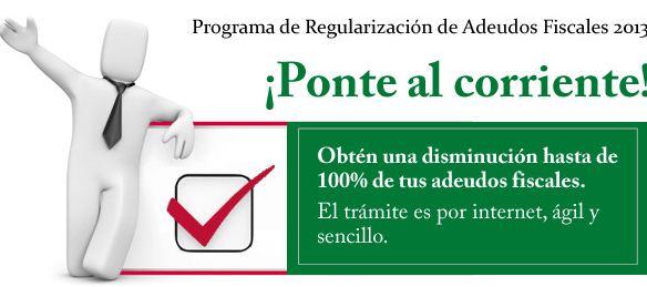 SAT: programa de condonación de adeudos fiscales