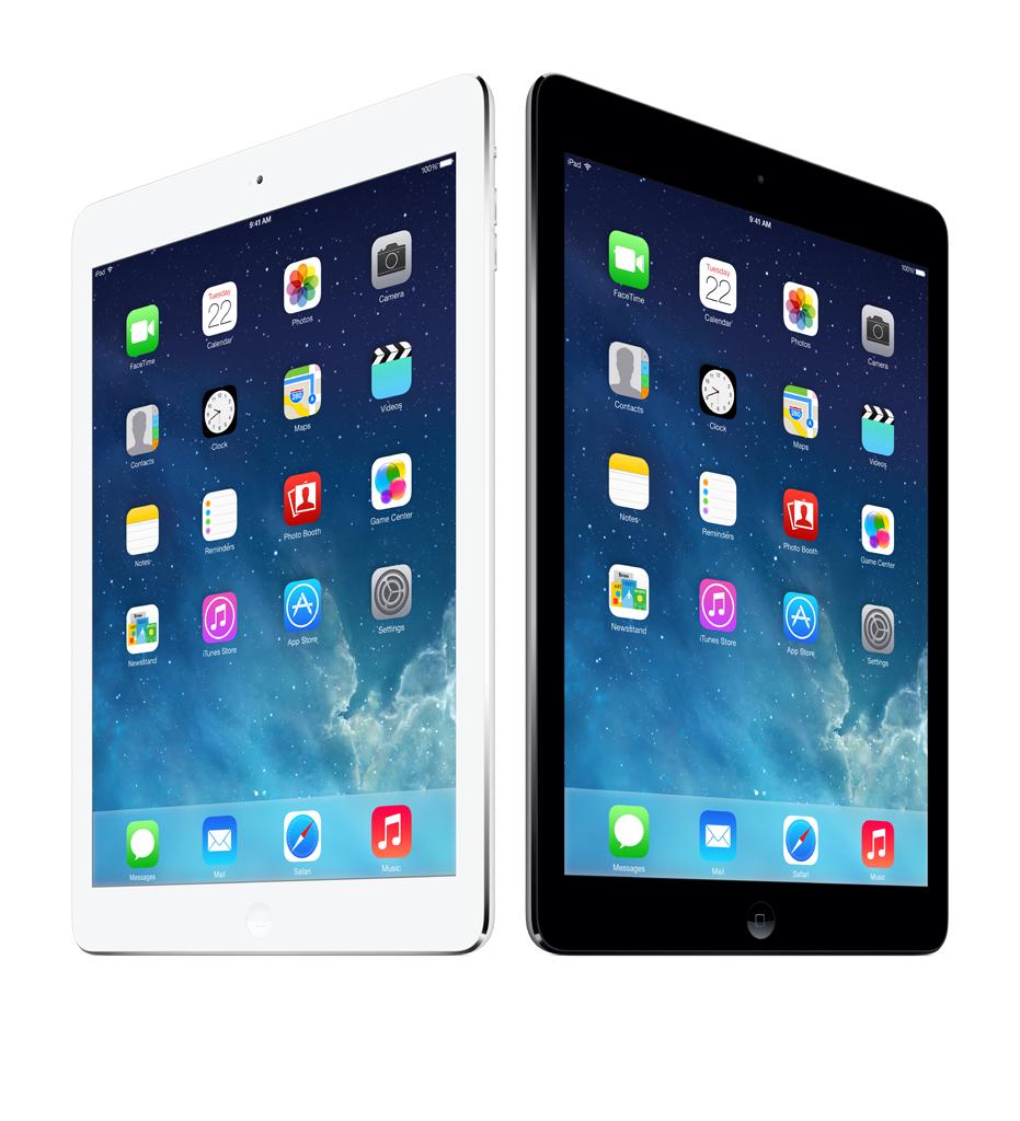 Walmart en línea: iPad Air WiFi blanca y negra 16Gb a $4,999