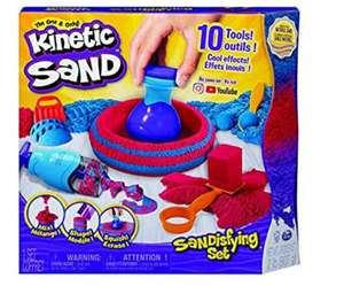 Amazon: KINETIC Sand Set Sandtástico Manualidades