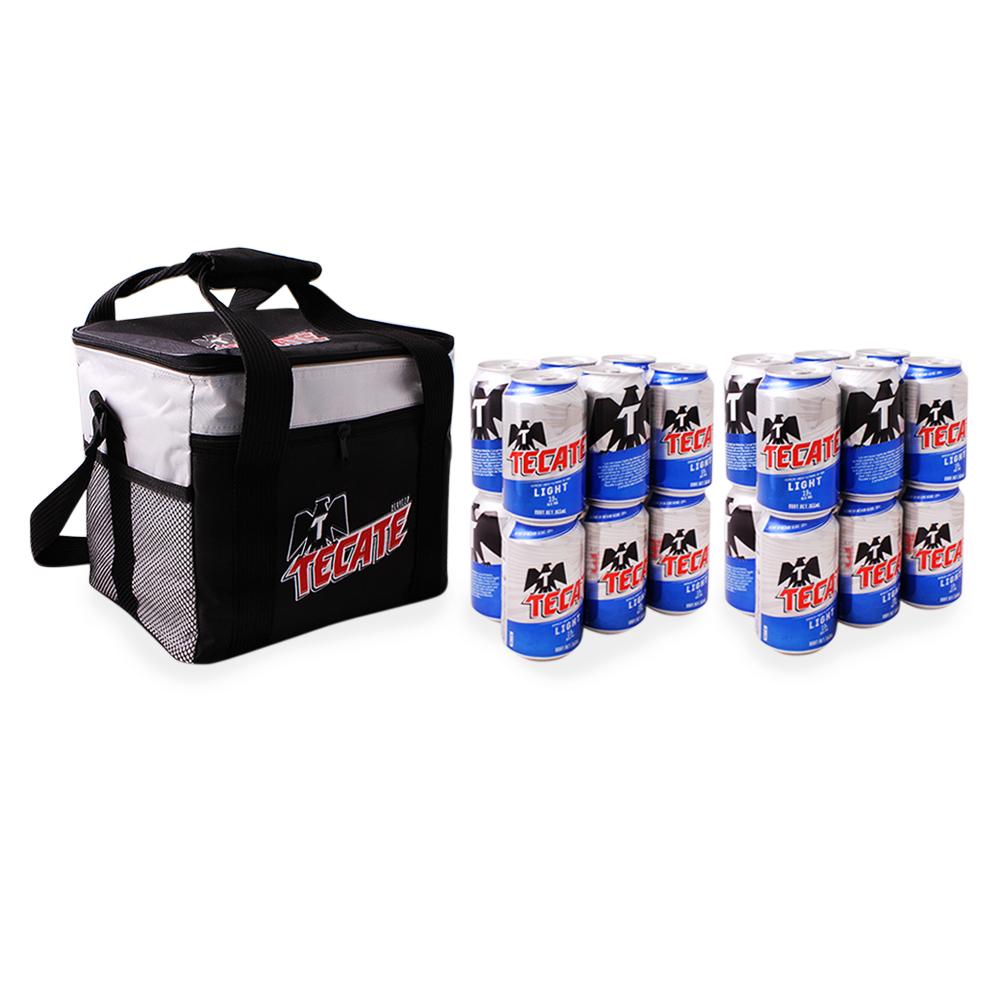 Superama en línea: Paquete de Hielera + 24 cervezas Tecate a $199