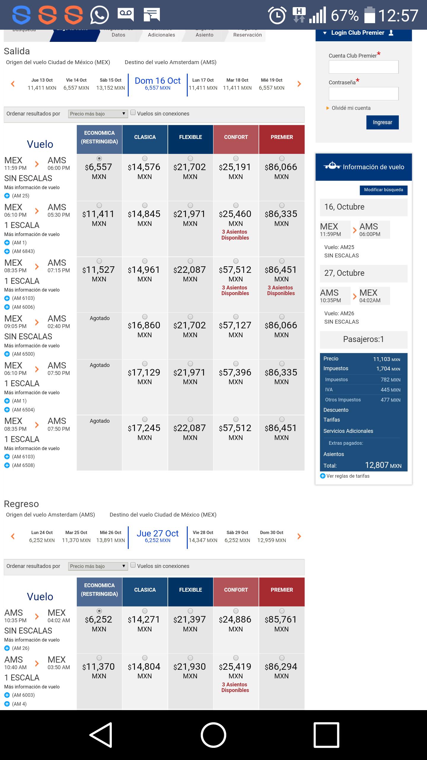Aeromexico: Vuelo redondo desde la CDMX a Amsterdam o Londres