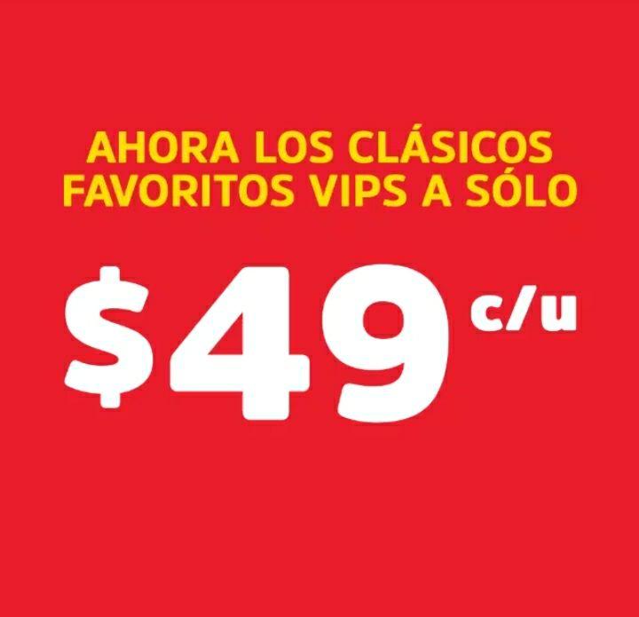 Clásicos Vips a sólo 49 pesos