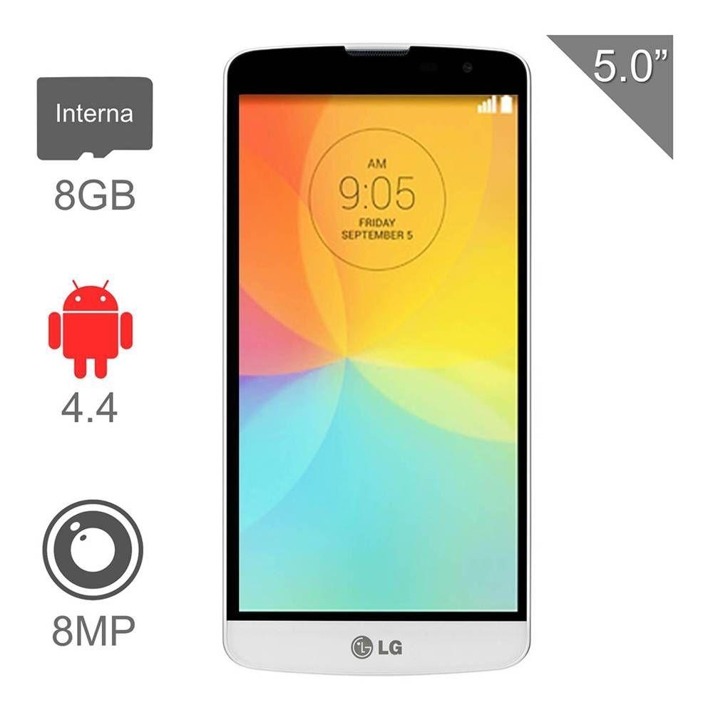 Walmart en línea: LG L80 Bello Plus Iusacell a $1,999