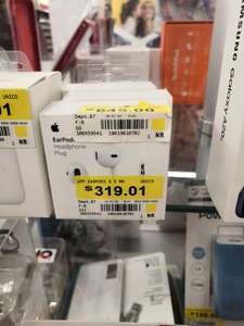 Walmart Apple Earpods 3.5MM