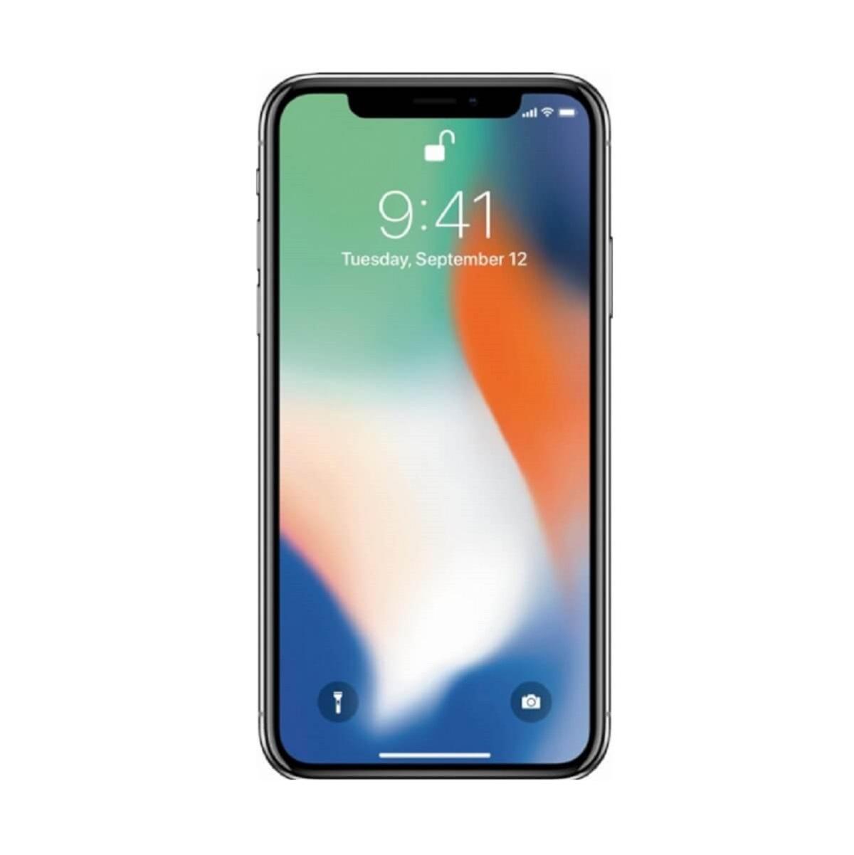 Best Buy iPhone X color plata de 64gb