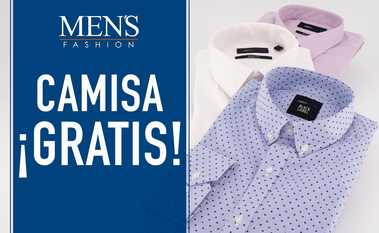 Men's Fashion: Camisa Gratis