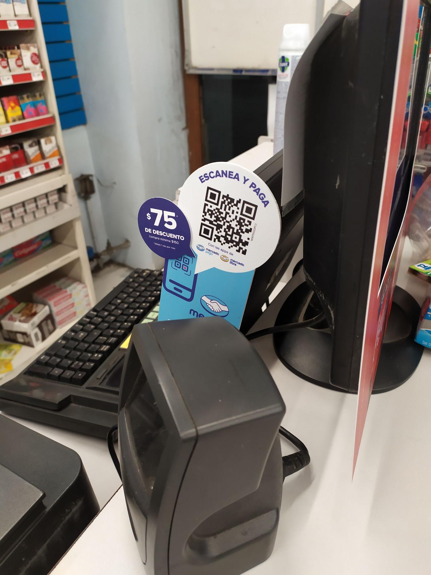Mercadopago: $75 de descuento en Farmacias Benavides al pagar con QR mínimo $150