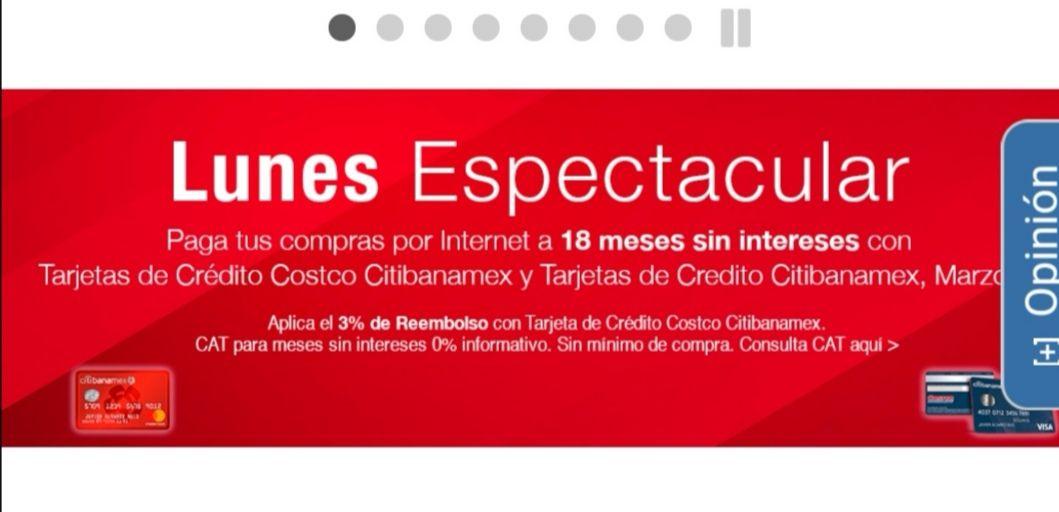 Costco: Hasta 18 meses sin intereses pagando con tarjeta de crédito costco banamex