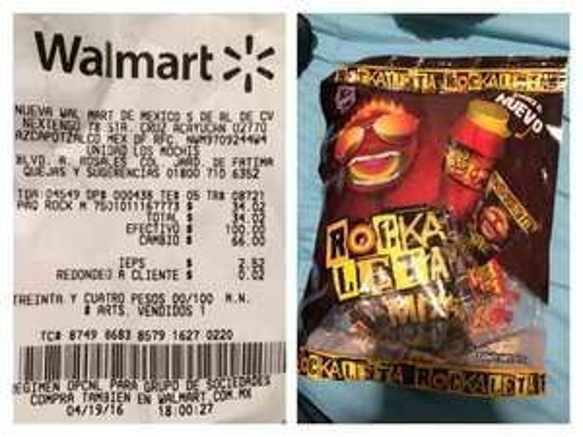 Walmart: Rockaleta Mix a $34.02