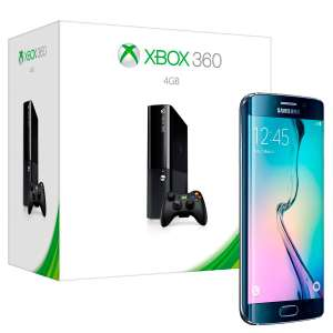 Claro Shop: Paquete Galaxy S6 Edge 32 gb y Xbox 360 4 gb a $12,979