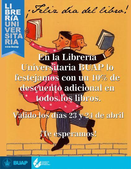 Librería Universitaria de la BUAP: 10% Adicional en todos los libros