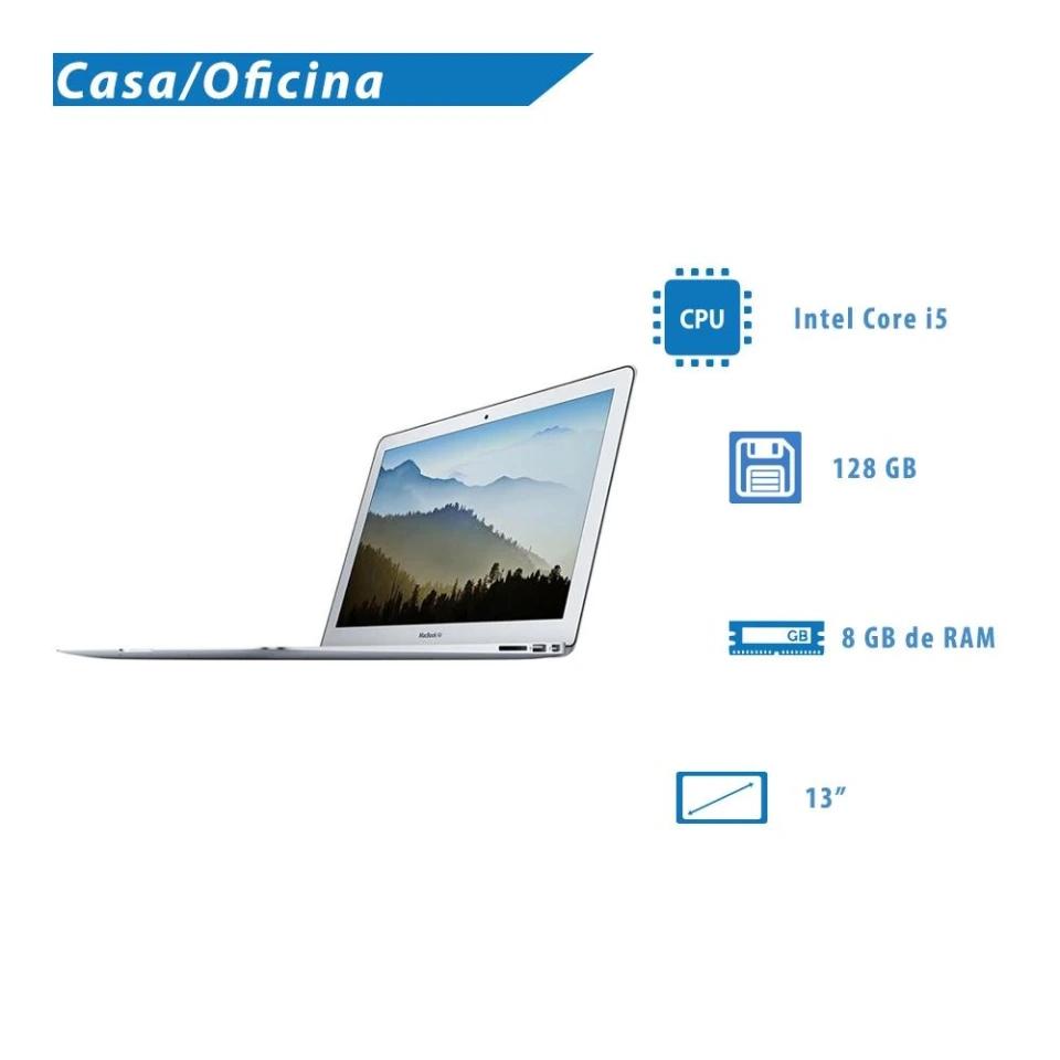 Walmart: MacBook Air Apple Intel Core i5 8GB RAM 128GB SSD Gris 13 Pulgadas