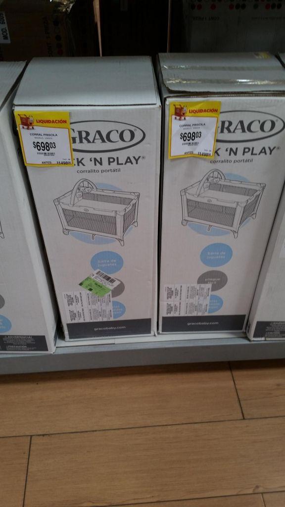 Walmart: Corral Graco a $698.03