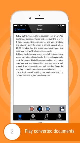 App Store: PDF to Audio Offline gratis para iOS