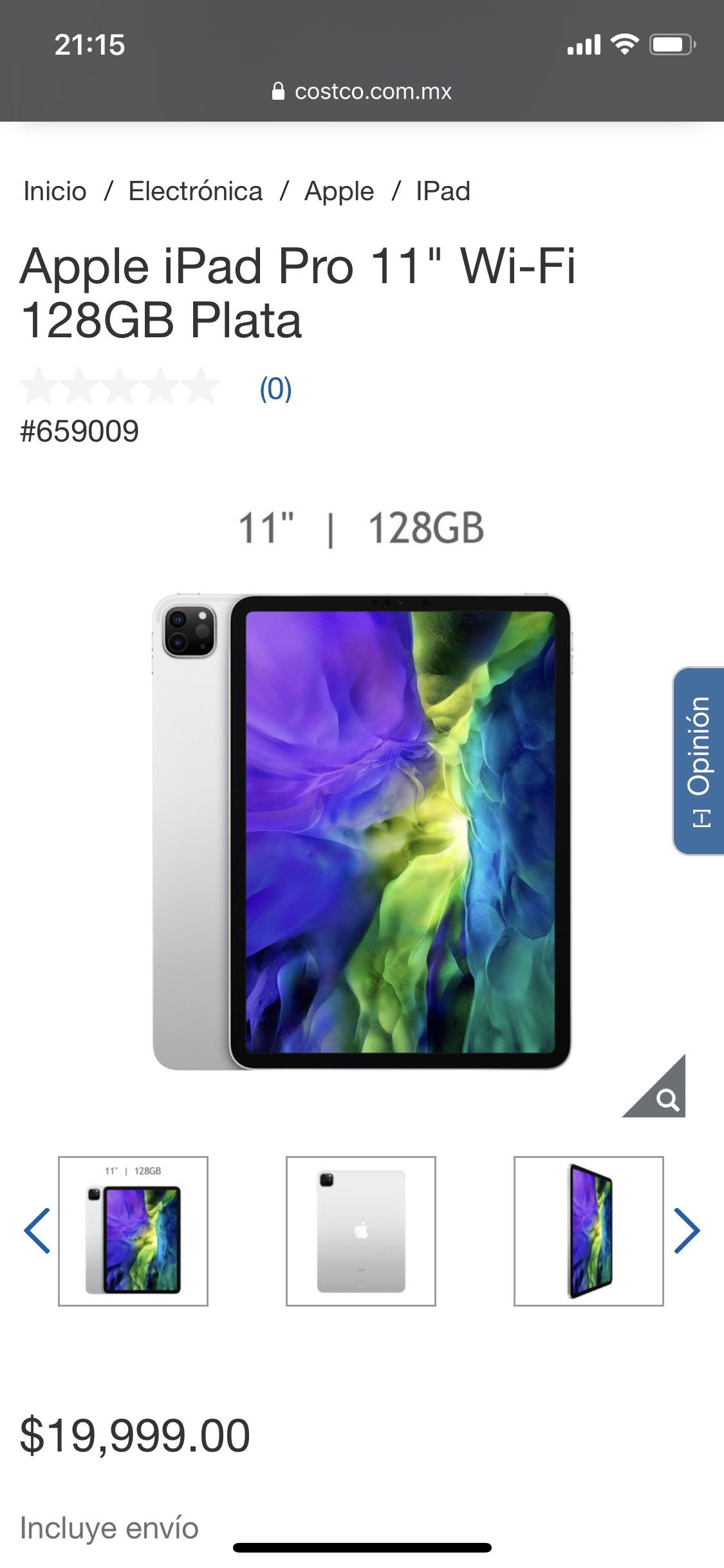 Costco: iPad Pro 2020
