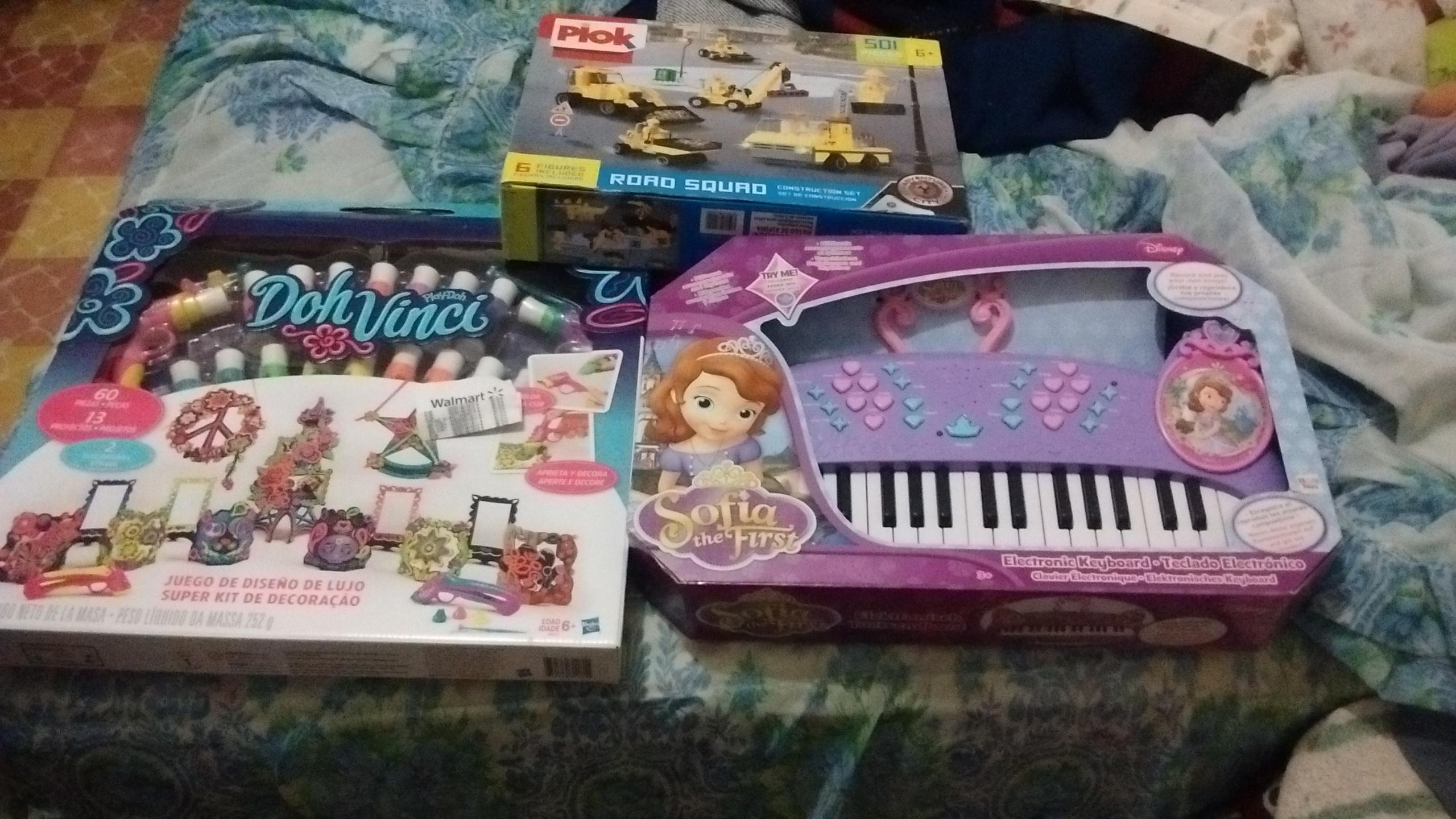 Walmart Buenavista: piano electrónico princesa sofia, set dohvinci $90.01 plok 45.01 y mas