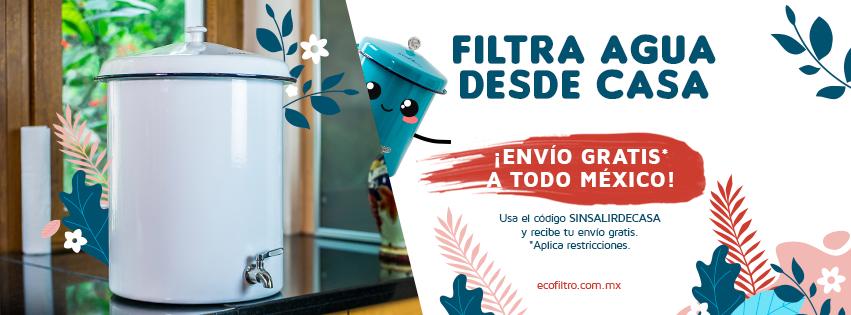 EcoFiltro cupón de envío gratis