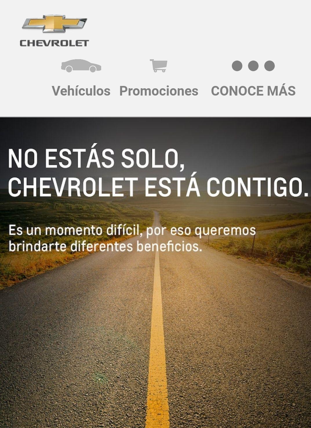 Chevrolet: plan de contingencia