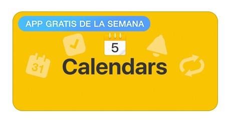 App Store: Calendars 5 GRATIS por tiempo limitado (antes $199)