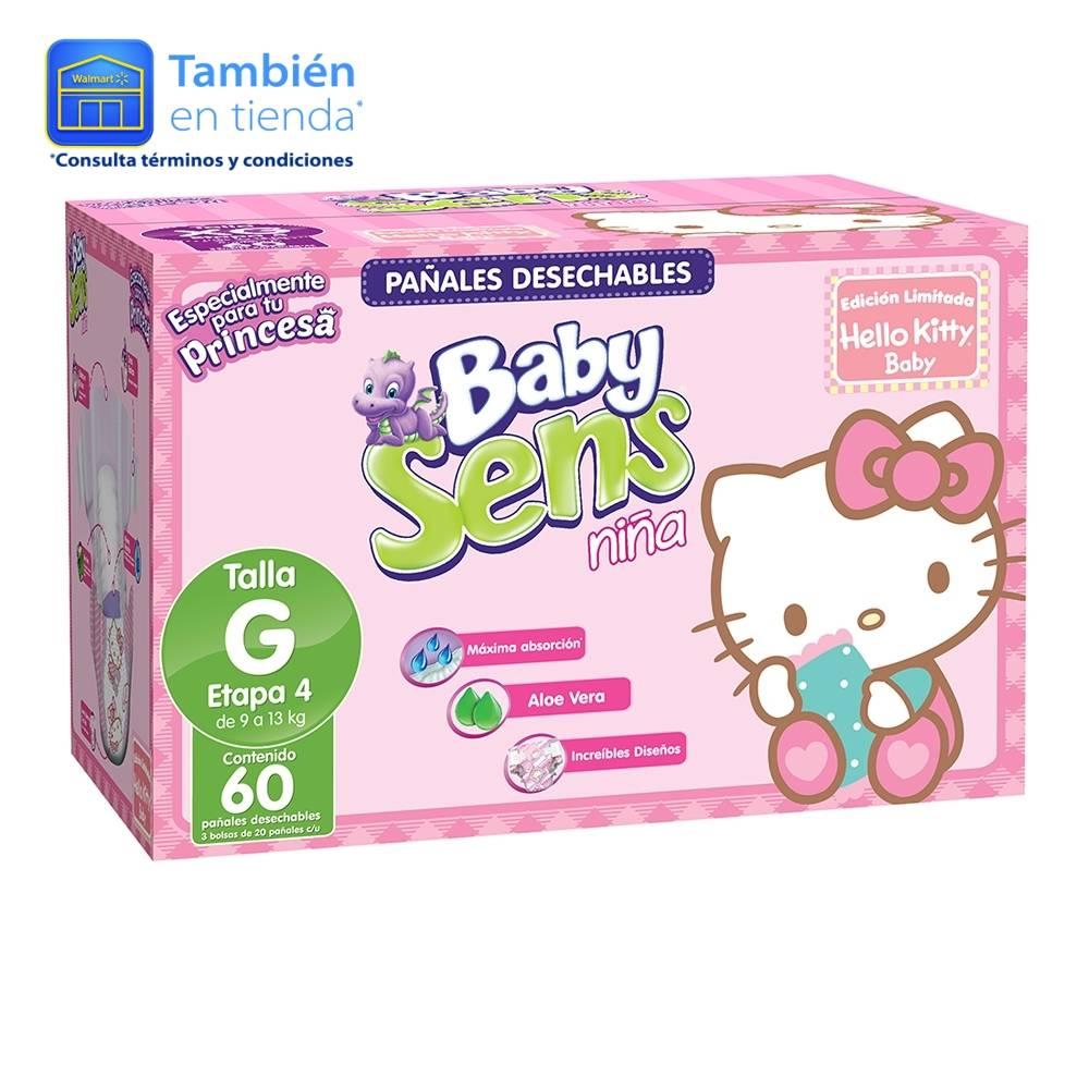Walmart Guadalajara Aguasul: 60 pañales Baby Sens por $148