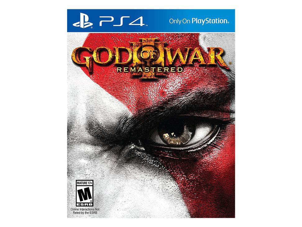 Liverpool: God of War III remasterizado para PS4 a $239 envío gratis