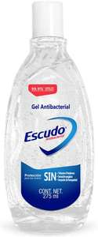 Amazon: Escudo gel antibacterial de 275ml