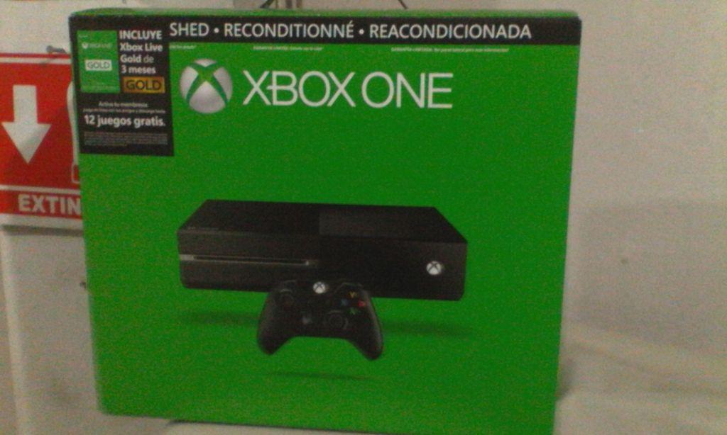 Walmart: Xbox One de 500GB Refursbished a $4,999