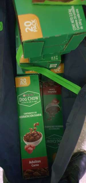 Sam's Club: Sobres Dog Chow 20 piezas