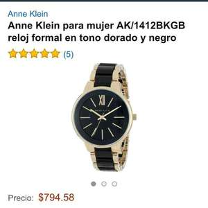 Amazon: Reloj Anne Klein de $2,300 a $794.58