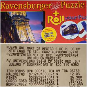 Walmart: Rompecabezas + Roll your puzzle a $170.03