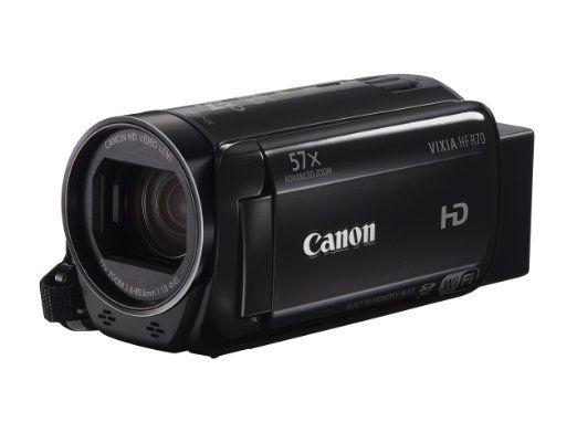 Amazon: Videocámara Canon Vixia HF R70 Modelo 2016 ($5,355 con Saldazo)