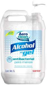 Costco Gel Antibacterial 5 Litros 70% Alcohol