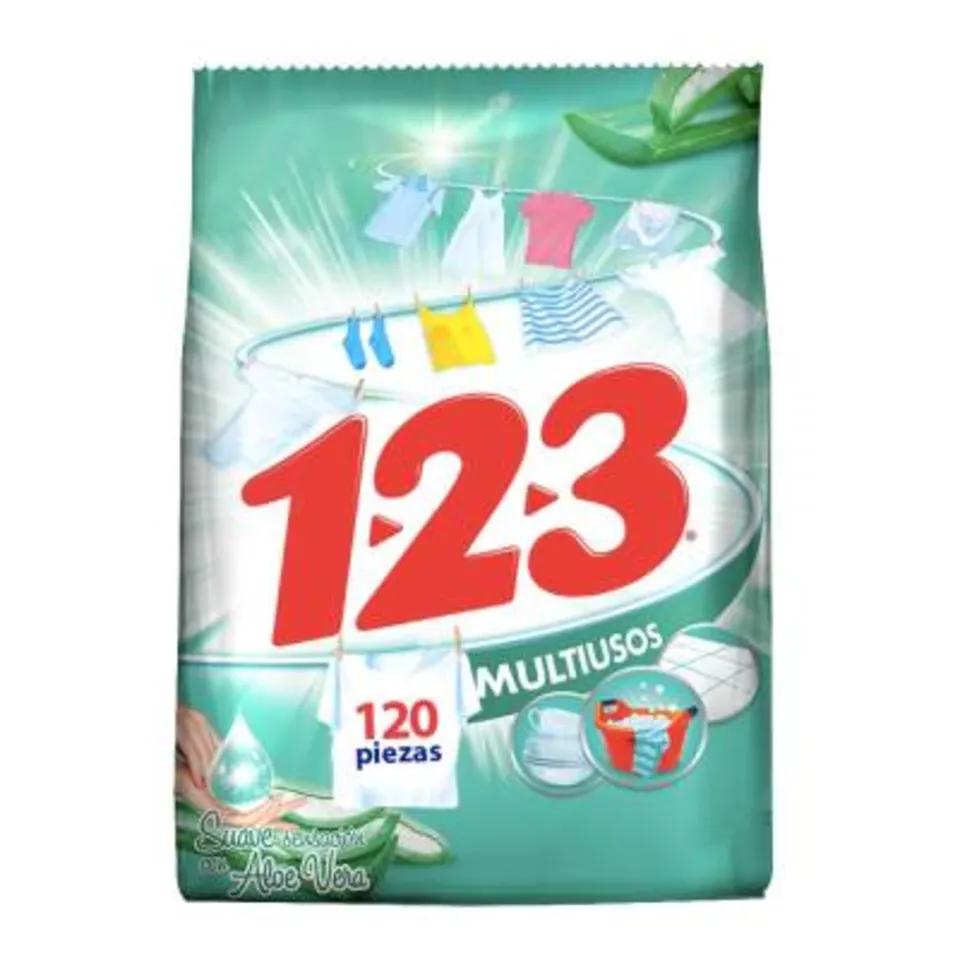 Bodega Aurrera Mty: Detergente 123 a tan solo 11.90.