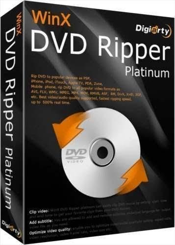 Gratis WinX DVD Ripper Giveaway Versión (PC y MAC)