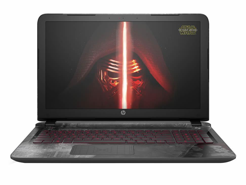 Liverpool en línea:  Laptop HP Edición Especial Star Wars 15-AN002LA a $10,399