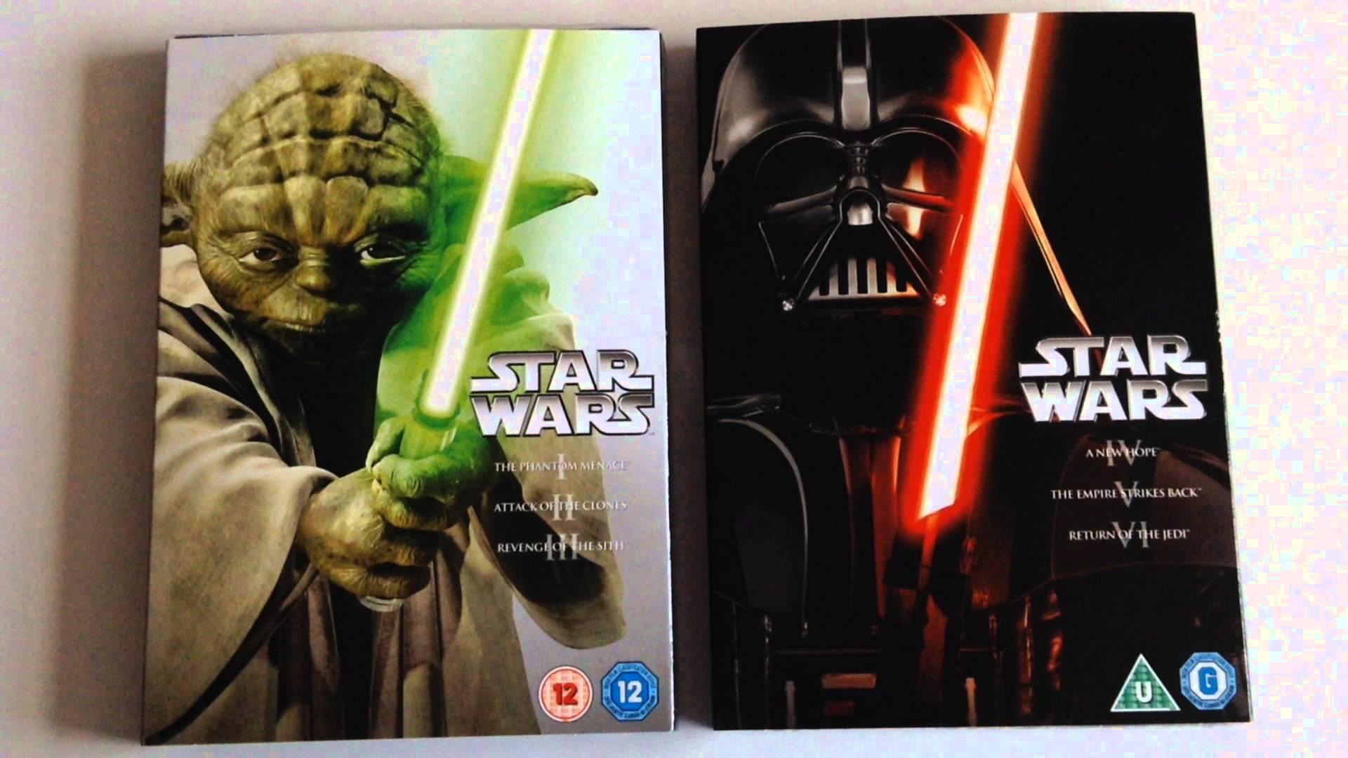 Walmart Miramontes CDMX: Star Wars DVD BOX SETS en su tercera liquidación