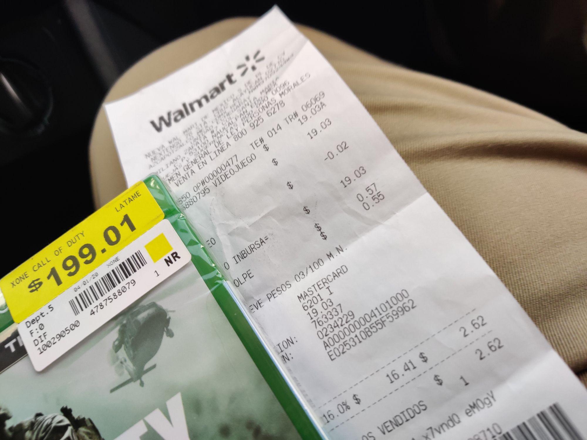 Walmart: Call of duty warfare remastered en rebaja