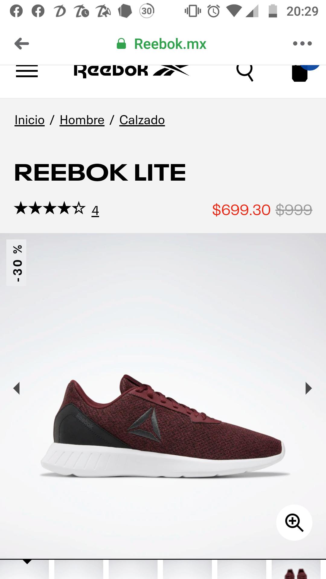 Reebok: Tennis Rebook Lite