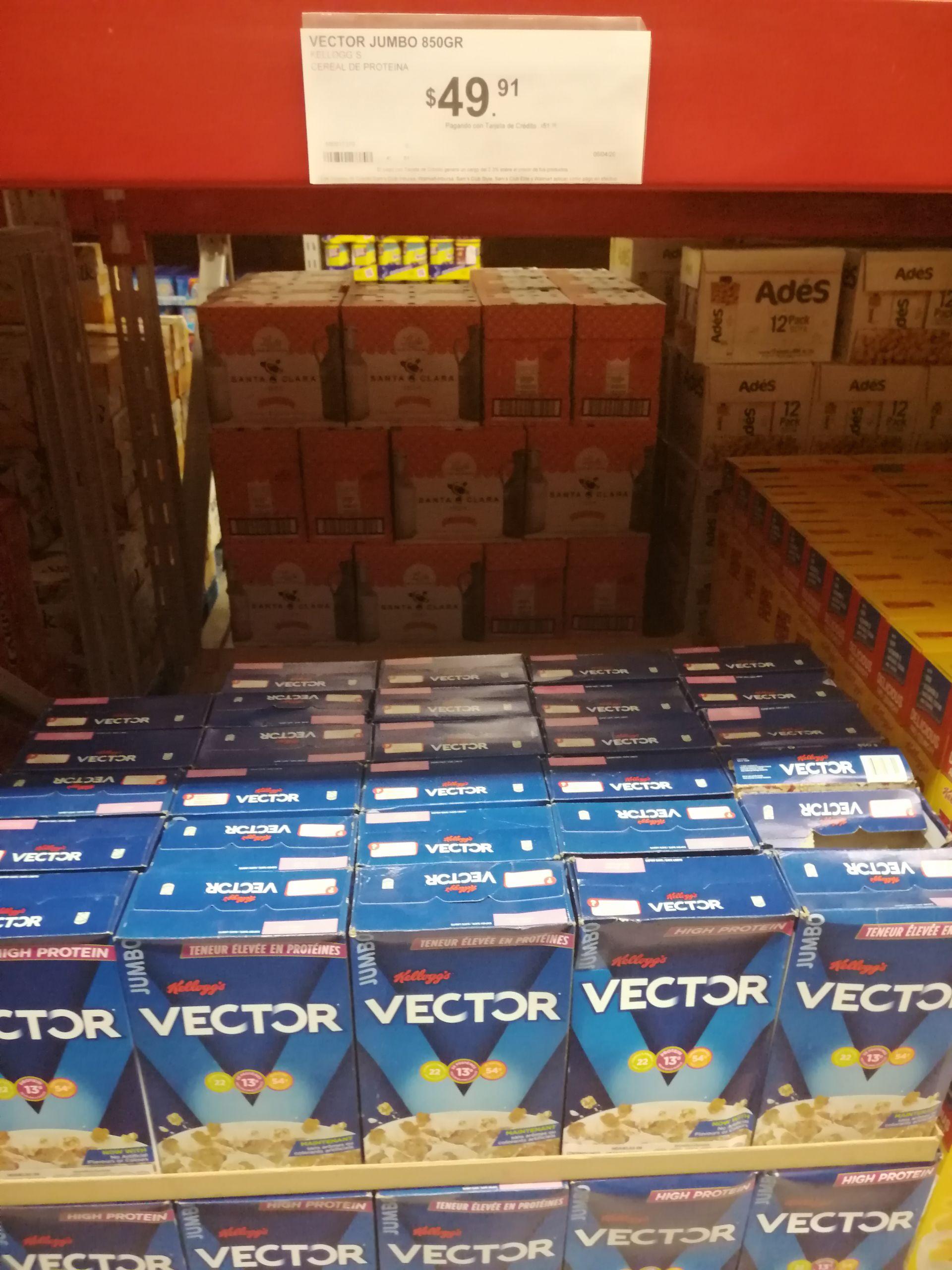 Sam's Club: Cereal Kellogg's Vector