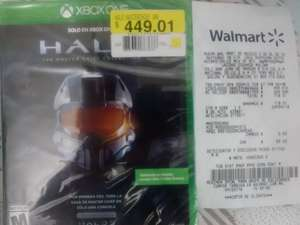 Walmart: Halo Master Chief Collection a $449.01