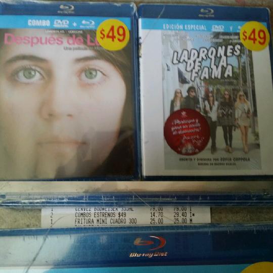Soriana: películas Blu-ray On Screen desde $9